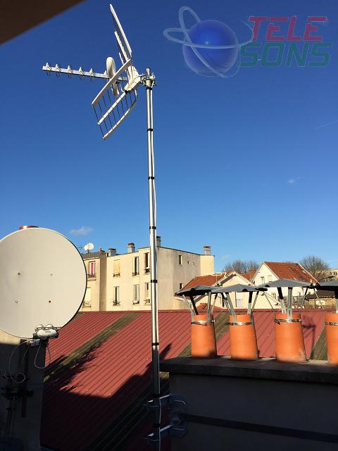 Antenne TNT LE PERREUX SUR MARNE